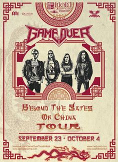 """Long Live The Loud 666: GAME OVER """"BEYOND THE STATES OF CHINA TOUR 2016"""""""