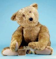 Steiff display center-seam teddy bear