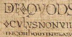 BNF lat 39427 page 62v sup gauche.jpg Page du Lectionnaire de Luxeuil de la BNF