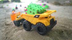 Car Videos For Kids | Excavator And Trucks For Kids | Disney Cars Toys For Children 2017 | Bored Panda