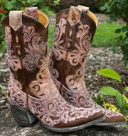 Old Gringo Linda Lou Pink Boots L1133-1 Picture