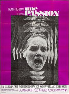 The Passion of Anna (Ingmar Bergman, 1969) French grande design by Jouineau Bourduge
