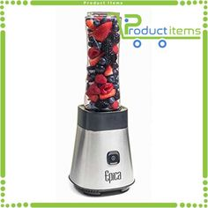 Buying Choices: Epica Personal Blender with Take-Along Bottle Green Smoothie Cleanse, Smoothie Blender, Fruit Smoothies, Mini Blender, Portable Blender, Blender Food Processor, Food Processor Recipes, Professional Blender, Snack Items