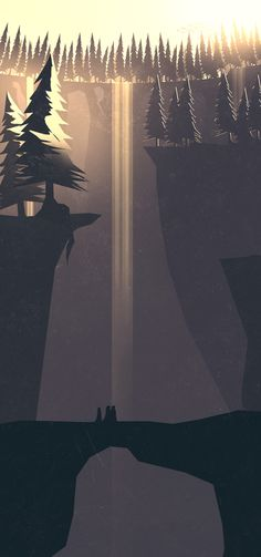 Game Style Exploration by Cody Fitzgerald, via Behance