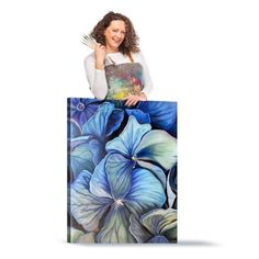 Blooms Masterclass – Blooms Artist Community Hydrangea Painting, Hydrangea Bloom, Online Art School, Photo Composition, Painting Workshop, Big Flowers, Cool Paintings, Learn To Paint, Community Art