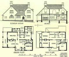 Cool old house plan