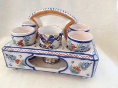 Antique Henriot Quimper French Faience Art by twobizzarepeople