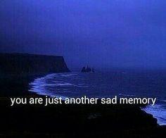 i will always be a sad memory