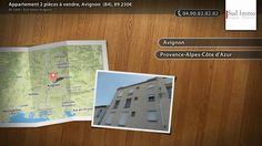 Appartement 2 pièces à vendre, Avignon  (84), 89 250€