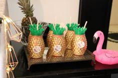 personalizados para festa infantil tema tropical flamingos, abacaxis, moana. Lembrancinhas estilo faça você mesmo.