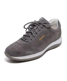 09bd807368fb6 Prada Sport Grey Suede Sneakers Sz. 39 Suede Sneakers