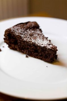 5 ingredients flourless chocolate cake #glutenfree