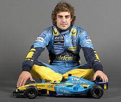 Fernando Alonso World Champion 2005 & 2006