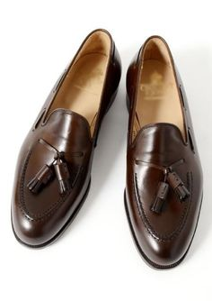 Men,s Classic Brown Leather Shoes with Tassels Style, Men luxury shoe, men forma - Casual