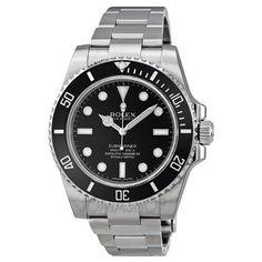 Rolex Submariner Black Dial Stainless Steel Automatic Mens Watch 114060 | WatchCorridor
