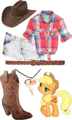 """""""Applejack"""" by theisshelby on Polyvore"""