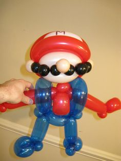 Balloon Mario (like I'd ever be able to make this....but it's cute)
