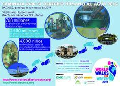 Badajoz camina por el Derecho al Agua https://www.facebook.com/events/1388818644673962/?ref=5