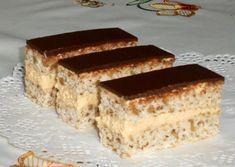 Snehové rezy (fotorecept) - obrázok 4 Krispie Treats, Rice Krispies, Tiramisu, Food And Drink, Cooking, Ethnic Recipes, Anna, Basket, Bakken
