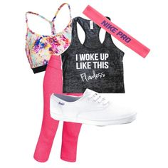 Hip Hop by shoppreppypandas on Polyvore featuring polyvore fashion style Under Armour Keds NIKE
