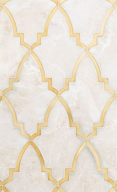 Backsplash Alternatives To Subway Tile Paris Grande Water Jet by Mosaique SurfaceParis Grande Water Jet by Mosaique Surface Tile Patterns, Textures Patterns, Pinterest Color, Arabic Pattern, Gold Pattern, Tile Grout, Tiling, Kitchen Backsplash, Kitchen Wood