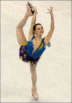 Sasha Cohen.I love ice skating.Please check out my website thanks. www.photopix.co.nz