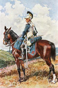 Trooper,1st Bavarian Kürassier-Regiment 1870