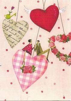 Billedresultat for silke seffler Decoupage, Illustrations, Illustration Art, Monica Crema, Facebook Birthday, Art Fantaisiste, Valentine Picture, Art Carte, Happy Wedding Day