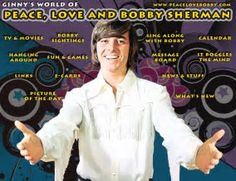 Image result for peace love bobby sherman