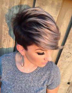 Короткие и средние волосы в 2017 году украсит стрижка пикси! 35 ярких примеров на фото