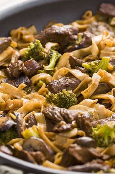 Skinny Beef & Broccoli Noodlescountryliving