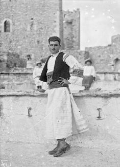 Hellenic Genealogy Geek - Family History Research Tools for Greek Genealogy: Photograph - Pyrghi, Chios, 1912-1928 - Inhabitant...