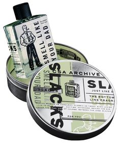 Created as a commemoration of first CSA Archive illustration book, Slacks is CSA's one and only Fragrance.