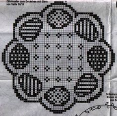 Easter Egg Filet Filet Crochet, Crochet Cross, Crochet Doilies, Double Crochet, Crochet Stitches, Embroidery Stitches, Cross Stitch Charts, Counted Cross Stitch Patterns, Holiday Crochet Patterns