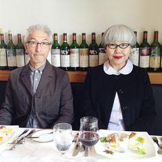 皆様、良いお年を… #couple #over60 #fashion #coordinate #outfit #ootd #instafashion #instaoutfit #instagramjapan #whitehair #silverhair #greyhair #夫婦 #60代 #ファッション #コーディネート #夫婦コーデ #グレイヘア #白髪 #共白髪