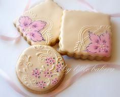 My little bakery :): Pink flower..