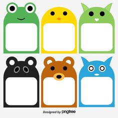 Bonito Animal Photo Frame Collection PNG y Vector Old Paper Background, Background Banner, Geometric Background, Photo Frame Decoration, Photo Frame Design, Notebook Labels, Card Games For Kids, Christmas Cartoons, Cute Little Animals