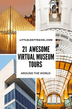 Discover the world's best virtual museum tours from your own home. See some of the top exhibits from across the world, with highlights including the British Museum, Museo Frida Kahlo, the Louvre, the Van Gogh museum and much more! Round The World Trip, Tour Around The World, Around The Worlds, Virtual Museum Tours, Virtual Tour, Virtual Games, Virtual Reality, Kolumba Museum, Pergamon Museum