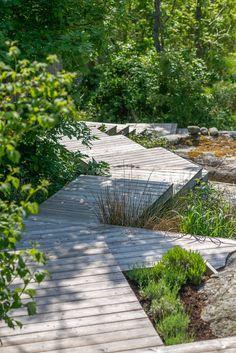 Bamboo Garden, Shade Garden, Small Gardens, Outdoor Gardens, Garden Cabins, Vertical Garden Design, Landscaping Retaining Walls, Outdoor Stairs, Victorian Gardens