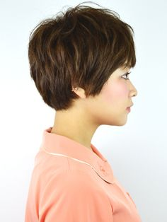 Pixie cut side