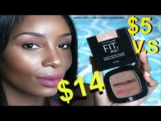 Check out my new video: MAYBELLINE V.S L'OREAL | $5 OR $14 | TRICE TYME :) https://youtube.com/watch?v=MItiA_p59sM