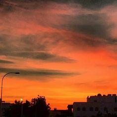 Beautiful Sunset - Muscat - Oman