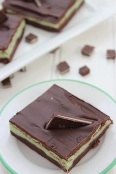 Andes Mints Chocolate Fudge - delish holiday recipe. We love boxing this up for Teachers, too!