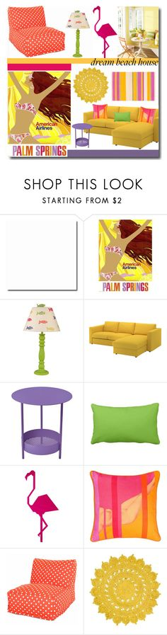"""""""Vacation Vibes'"""" by dianefantasy ❤ liked on Polyvore featuring interior, interiors, interior design, home, home decor, interior decorating, Salsa, BIVAIN, polyvorecommunity and polyvoreeditorial"""