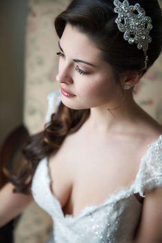Elegant Bridal Boudoir and Editorial