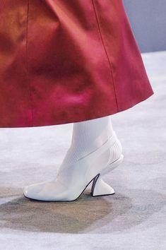 London Fashion, Retro Fashion, Fashion Show, Floral Boots, Moon Boots, Miuccia Prada, Ulla Johnson, Platform Boots, Shoe Brands
