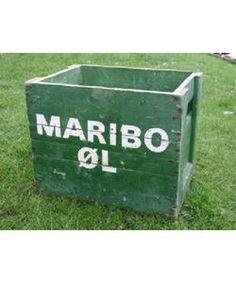 Epoke Modeller 876019. Ølkasser Maribo Øl. 10 stk.