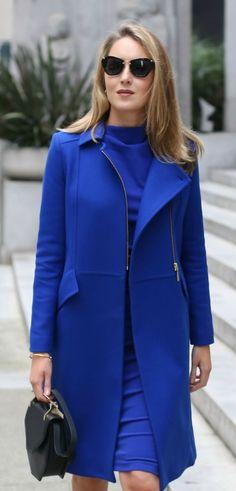 1e733e105db6a cobalt 3 4-sleeve knit midi dress