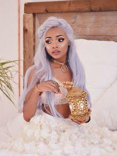 nyane lebajoa as terra Girls Tumblrs, Hair Inspo, Hair Inspiration, Pelo Multicolor, Mode Pop, Look Girl, Natural Hair Styles, Long Hair Styles, Cooler Look