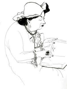 sketchbook by Victoria Semykina, via Behance
